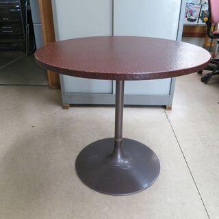 深紅の円卓💛直径約70cm💛美品