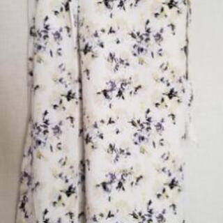 さ値下げ レプシィム スカート 巻きスカート マタニティ 花柄