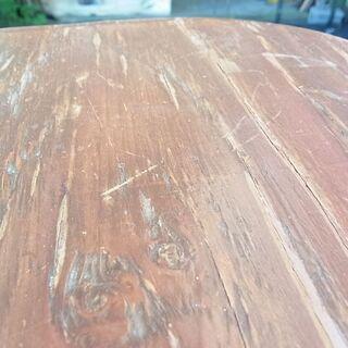 アンファン ENFANT バタフライ ダイニングテーブル 両バタ カントリー調 レトロ調 テーブルのみ 食卓 − 北海道