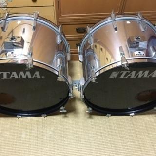 TAMA ドラムセット 2バス4タム 多点セット!
