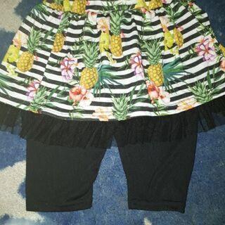 ANAPスカート付きパンツ120