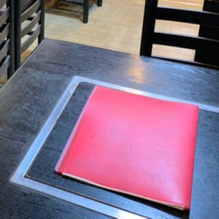 直接引き渡し出来る方)鉄板付きテーブル 80cm x 75cm