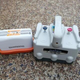 Daiwa、SHIMANO電動リール用バッテリー