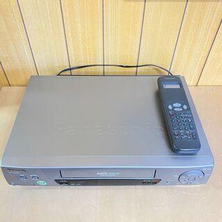 VHSビデオデッキ パナソニック NV-H220G
