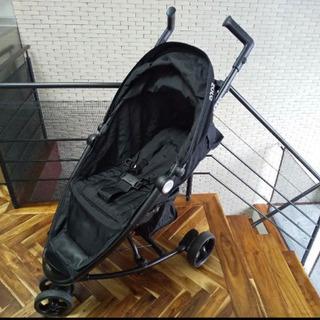 新生児から 3輪 ベビーカー  zolo ブラック