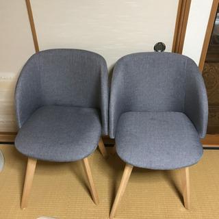 お値下げ!定価約2万円です Lowya 椅子 2脚セット