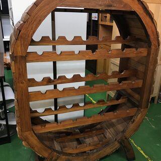 大型木製ワインラック