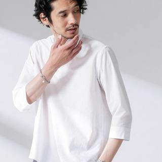 ※新品未使用 ナノユニバース 7分袖シャツ XL
