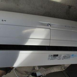 霧ヶ峰 ズバ暖 2014年製 MSZ-XD405S-W 新…