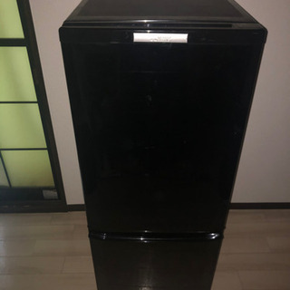 2015年製146L【MR-P15Y-B】冷蔵庫