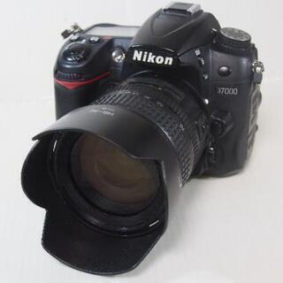 デジタル一眼レフ D7000 + 18-70mm (ニコンレンズ)