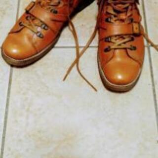 キャサリンハムネットのモンキーブーツ 25.5cm
