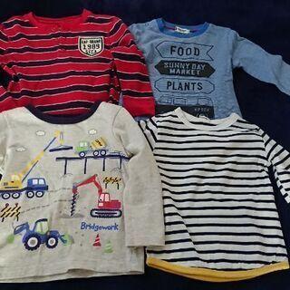 長袖Tシャツ 95~104cm