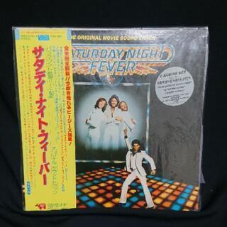 サタディ・ナイト・フィーバー LPレコード 帯付き トラボルタの画像