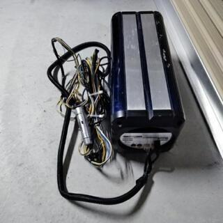 値下げ クラリオン サブウーハー 120w アンプ付き SRV617