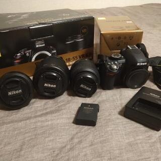 初心者も安心!Nikon D3100+レンズ3本セット