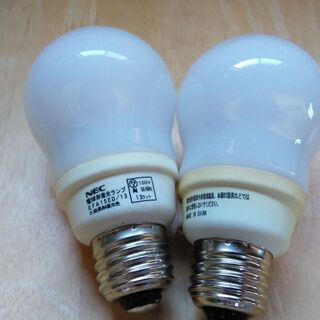 「電球形蛍光ランプ」 NEC コスモボールEFA15ED/13 ...