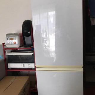 完動品!シャープ 冷蔵庫 SHARP 167L どっちもドア冷蔵...