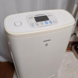 0円!加湿機能付空気清浄機 TOSHIBA東芝