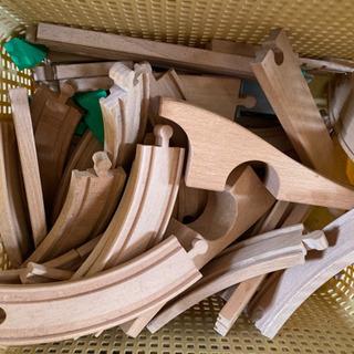 機関車トーマス 木製レールセット