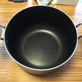 【のり様お渡し予定】【無料】両手鍋 歪みあり