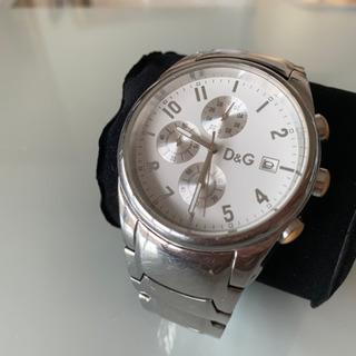 D&Gの腕時計 サンドパイパー メタルホワイト レディース
