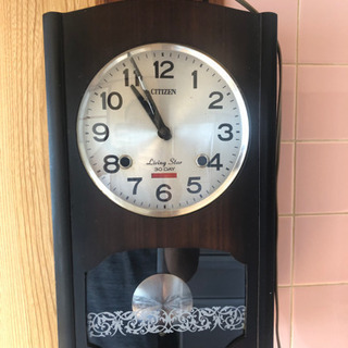 シチズン製 壁掛け時計 機械式