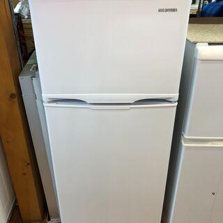 ☆アイリスオーヤマ AF118-W 118L 2ドア冷蔵庫 20...