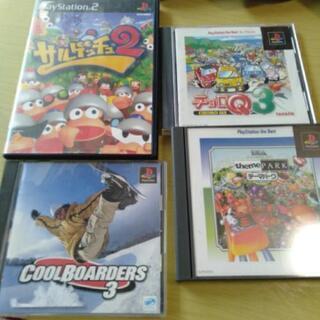 PS2、PS1ゲームソフト チョロQ3など