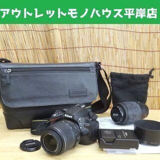 動作OK★ニコン デジタル一眼レフカメラ D5100 レンズキッ...