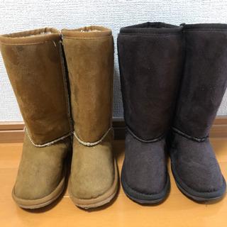 17cm ムートン風ブーツ