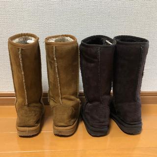 17cm ムートン風ブーツ  - 子供用品