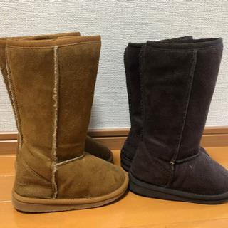 17cm ムートン風ブーツ  - 高知市