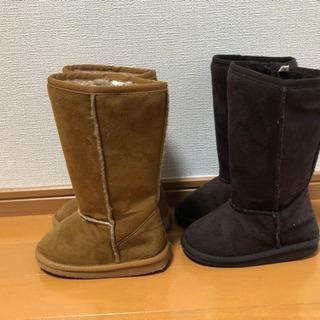 17cm ムートン風ブーツ  − 高知県