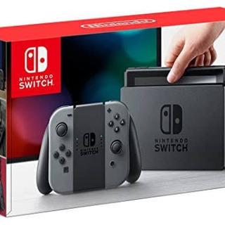 【ネット決済・配送可】Nintendo Switch グレー 本...