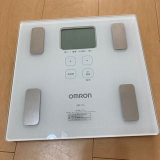 オムロン 体重体組成計 体重計 カラダスキャン HBF-214-...