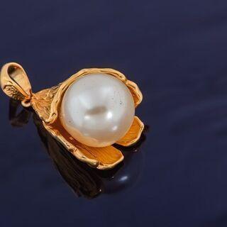 K18 南洋真珠 ペンダント 品番9-83