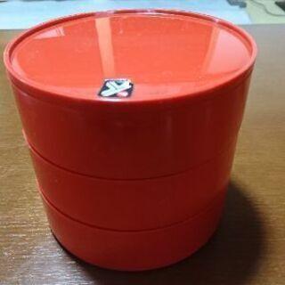 プラスチック製3段容器