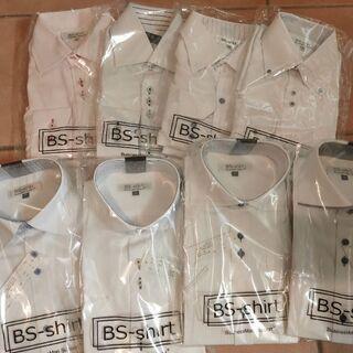 新品未使用 8枚 メンズ ワイシャツ まとめ売り