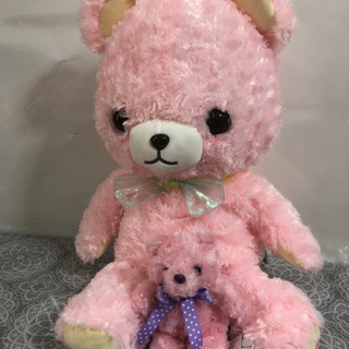 ピンクのくまちゃんセット
