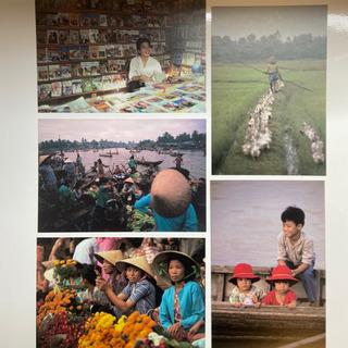 ベトナム写真 ポストカード 5枚セット
