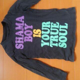 120㎝ 黒 長そでTシャツ
