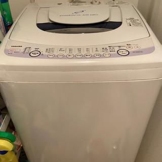 引き取り可能な方 洗濯機東芝AW-60GE