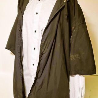 GU フーディシャツ(5分袖)+E XLサイズ