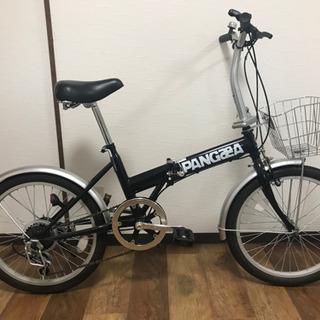 ゴイチ PANGAEA 折畳み自転車 20インチ 前カゴ付き