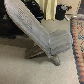 エチオピア?の組み立て椅子
