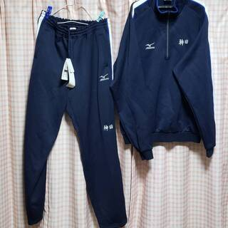 愛知県立津島高校 体操服 ジャージ 上は中古 下は新品