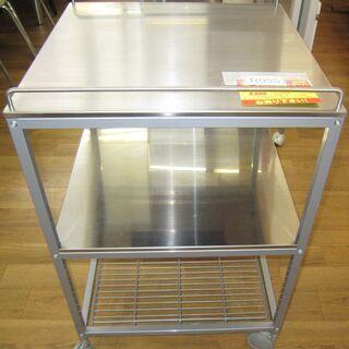 R055 ステンレス キッチンワゴン 幅54cm 美品