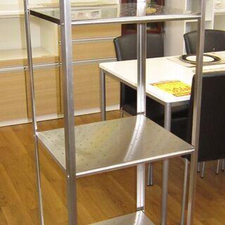 R212 IKEA ステンレス スリムラック 幅40cm 美品