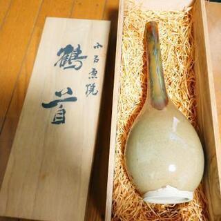 小石原焼   鶴首 花瓶